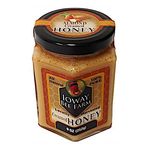 Ioway Almond Creamed Honey
