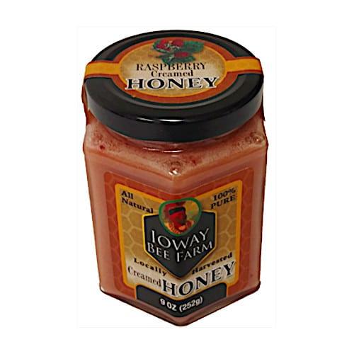 Ioway Raspberry Creamed Honey