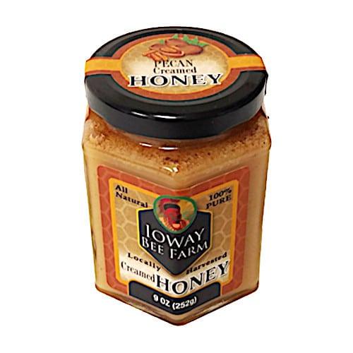 Ioway Pecan Creamed Honey